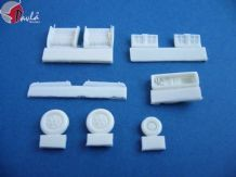Pavla U72013 1/72 Resin Mikoyan MiG-21F-13/PMF etc Wheel Bay ugrade for Bilek